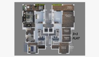 New-Built Apartments with Sea View in Trabzon Ortahisar, Property Plans-2
