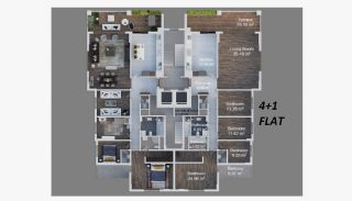 New-Built Apartments with Sea View in Trabzon Ortahisar, Property Plans-3