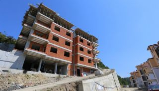 Spectacular Design Properties in Trabzon with Sea View, Construction Photos-2