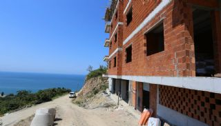 Spectacular Design Properties in Trabzon with Sea View, Construction Photos-5
