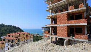 Spectacular Design Properties in Trabzon with Sea View, Construction Photos-6