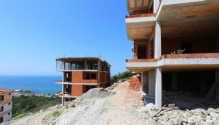 Spectacular Design Properties in Trabzon with Sea View, Construction Photos-7