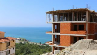 Spectacular Design Properties in Trabzon with Sea View, Construction Photos-8