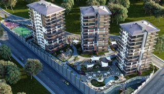 New Apartments with Great Sea and Valley View in Trabzon, Trabzon / Ortahisar