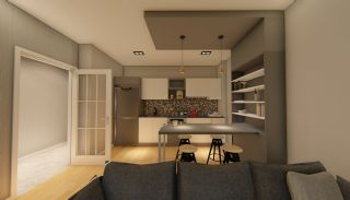 Contemporary Flats with Rich Complex Features in Trabzon, Interior Photos-5