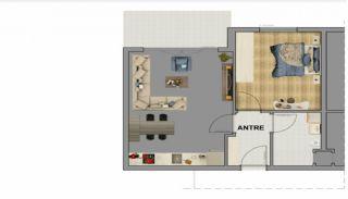 Современные Квартиры в Трабзоне в Благоустроенном Комплексе, Планировка -1