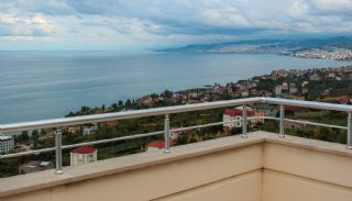 Trabzon Akçaabat'ta Deniz Manzaralı Satılık Triplex Villa, İç Fotoğraflar-16