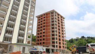 Nagelneue Wohnung in zentraler Lage in Kaşüstü Trabzon, Foto's Bau-7