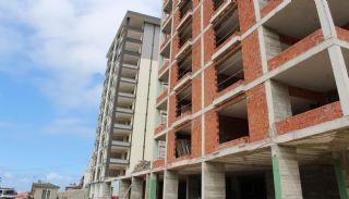 Nagelneue Wohnung in zentraler Lage in Kaşüstü Trabzon, Foto's Bau-9