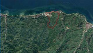 Tomt till Salu i Trabzon med Panoramautsikt över Havet, Trabzon / Arsin - video