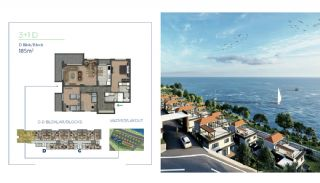 Sea View Properties Intertwined with Nature in Trabzon, Property Plans-14