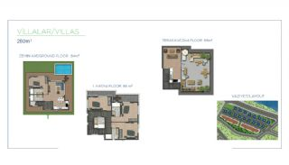 Spacious Villas with Private Garden and Pool in Trabzon, Property Plans-1
