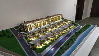 Ruime villa's met privétuin en zwembad in Trabzon, Vloer Plannen-2
