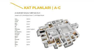 Komfortable Trabzon Wohnungen im Luxus Projekt, Immobilienplaene-1