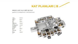 Komfortable Trabzon Wohnungen im Luxus Projekt, Immobilienplaene-2