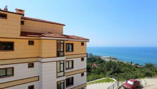Sleutel klaar duplex appartement met prachtig uitzicht op zee in Trabzon, Trabzon / Arakli - video