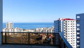Trabzon Kaşüstü'nde Site İçinde Deniz Manzaralı Daire, İç Fotoğraflar-17