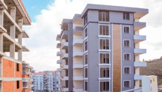Helt nya Trabzon-lägenheter med utsikt över havet och staden, Trabzon / Ortahisar - video