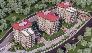 Zeezicht appartementen in Trabzon dicht bij sociale voorzieningen, Trabzon / Centrum - video