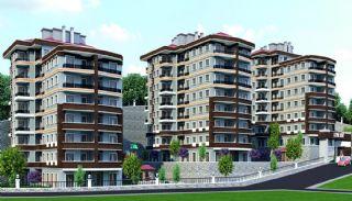 Zeezicht appartementen in Trabzon dicht bij sociale voorzieningen, Trabzon / Centrum