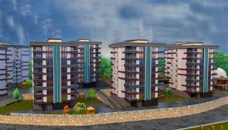 Familjelägenheter i Trabzon Yalıncık nära alla bekvämligheter, Trabzon / Centrum - video