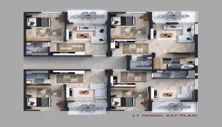 Appartementen in een beveiligd project in Trabzon, Vloer Plannen-3