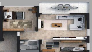 Appartementen in een beveiligd project in Trabzon, Vloer Plannen-4