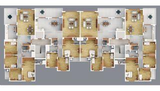 Продажа Качественных Квартир в Центре Трабзона, Планировка -1