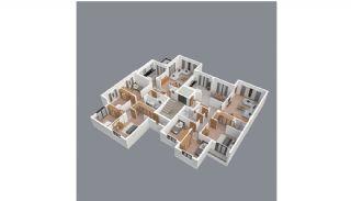 Продажа Качественных Квартир в Центре Трабзона, Планировка -5