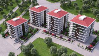 Väl belägna Bostanci-lägenheter med havsutsikt, Trabzon / Centrum - video