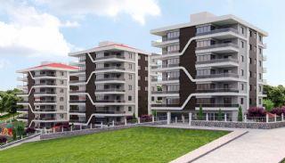 Väl belägna Bostanci-lägenheter med havsutsikt, Trabzon / Centrum