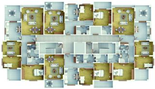 Trabzon Flats in Kaşüstü in a Family Oriented Complex, Property Plans-5