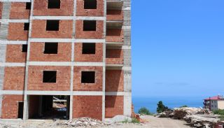 Central 3+1 Apartments with Sea and Nature Views in Trabzon, Construction Photos-1