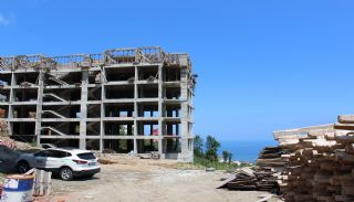 Central 3+1 Apartments with Sea and Nature Views in Trabzon, Construction Photos-2