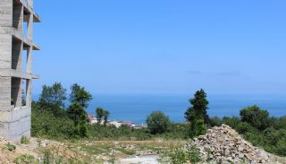 Central 3+1 Apartments with Sea and Nature Views in Trabzon, Construction Photos-3