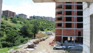 Central 3+1 Apartments with Sea and Nature Views in Trabzon, Construction Photos-8