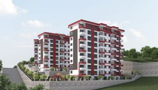 Central 3+1 Apartments with Sea and Nature Views in Trabzon, Trabzon / Center - video