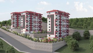 Central 3+1 Apartments with Sea and Nature Views in Trabzon, Trabzon / Center