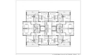 عقارات بورصة جديدة في مجمع بوتيك في نيلوفر, مخططات العقار-1