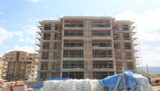 Moderna lägenheter till salu i ett säkert komplex i Bursa, Byggbilder-2