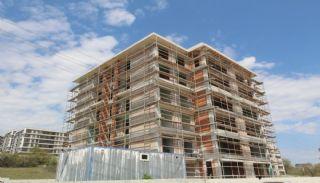 Moderna lägenheter till salu i ett säkert komplex i Bursa, Byggbilder-3