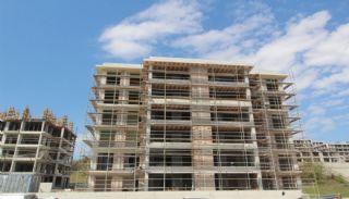 Moderna lägenheter till salu i ett säkert komplex i Bursa, Byggbilder-4
