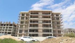 Moderna lägenheter till salu i ett säkert komplex i Bursa, Byggbilder-5
