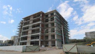 Moderna lägenheter till salu i ett säkert komplex i Bursa, Byggbilder-6
