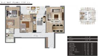 Zentral gelegene Luxus Immobilien Bursa Nilüfer, Immobilienplaene-1