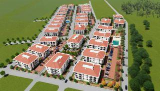 Lägenheter till Salu i det Lugna Området av Yalova, Planritningar-1