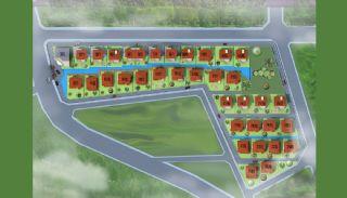 Comfortabele Yalova Villas in de Natuurlijke Leefomgeving, Vloer Plannen-1