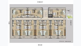 Modern Apartments for Sale 50 m to the Coast, Property Plans-1
