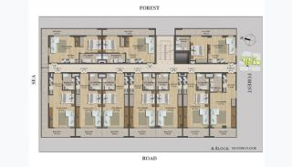 Modern Apartments for Sale 50 m to the Coast, Property Plans-2