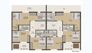 Tastefully Designed 4+1 Real Estate in Termal, Property Plans-5